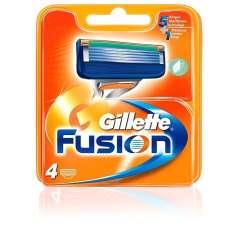 Gillette Fusion Recambios De Maquinilla De Afeitar 4 Recambios