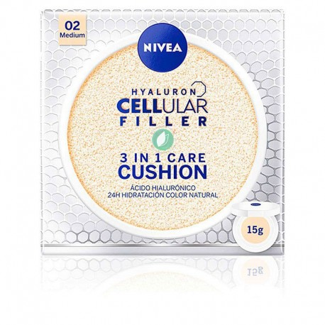 Nivea Cellular 3 en 1 Cushion Base Tono Medio