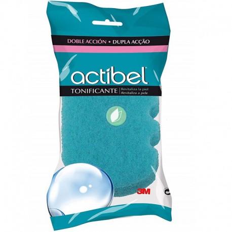 Esponja De Baño Actibel Tonificante Doble Acción