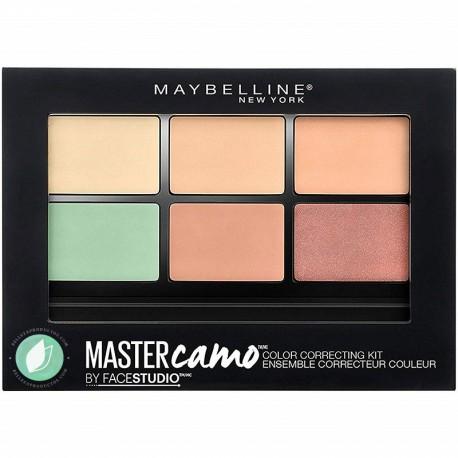 Maybelline Paleta Corrector Master Camo Tono 01 Light