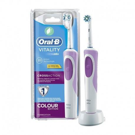Cepillo Eléctrico Oral-B Vitality CrossAction Limpieza 2D Temporizador Recargable