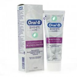 Oral-B 3D White Luxe Dentifrico Acelerador Del Blanqueamiento 75 ml