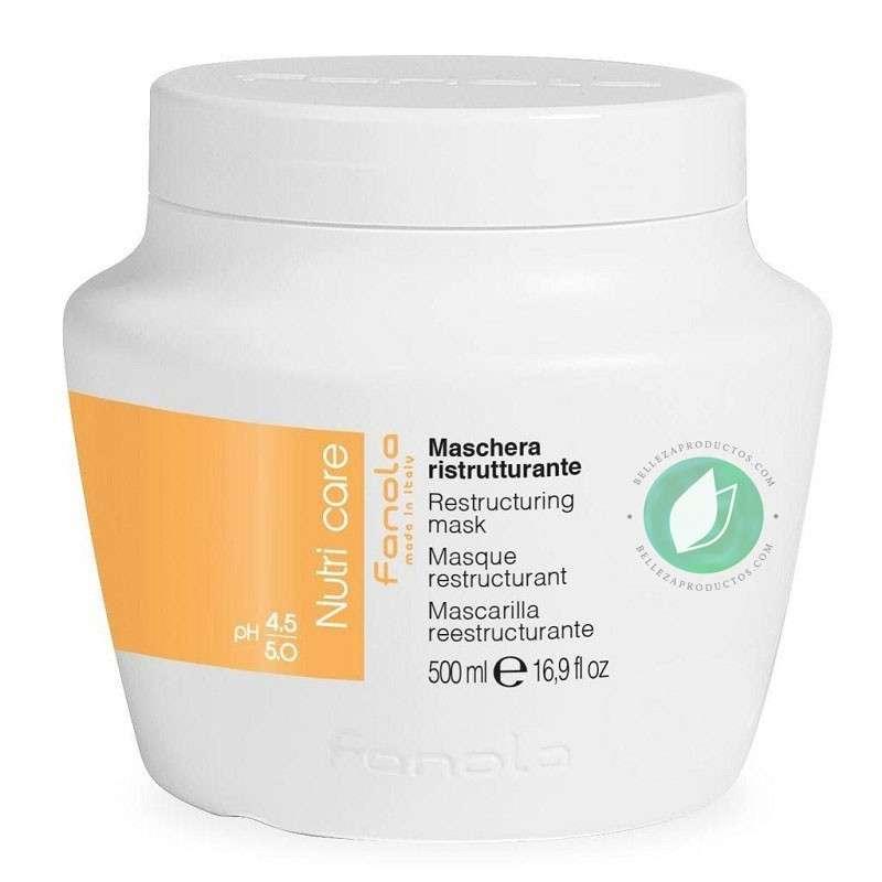 Fanola Nutri Care Mascarilla Reestructurante 500 ml