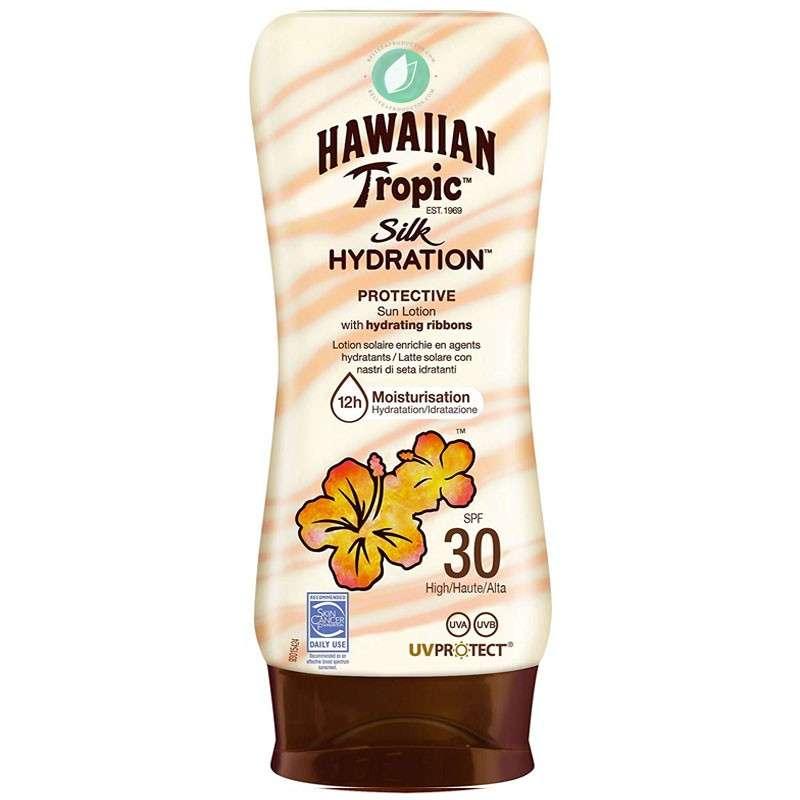 Hawaiian Tropic Silk Hydration Protective SPF 30 Loción Solar 180 ml