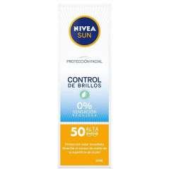 Nivea Sun Facial SPF50 Control De Brillos 50 ml