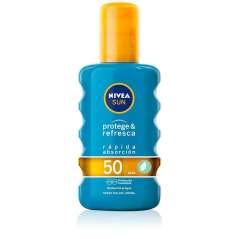Nivea Sun Spray Solar SPF50 Protege Y Refresca 200 ml