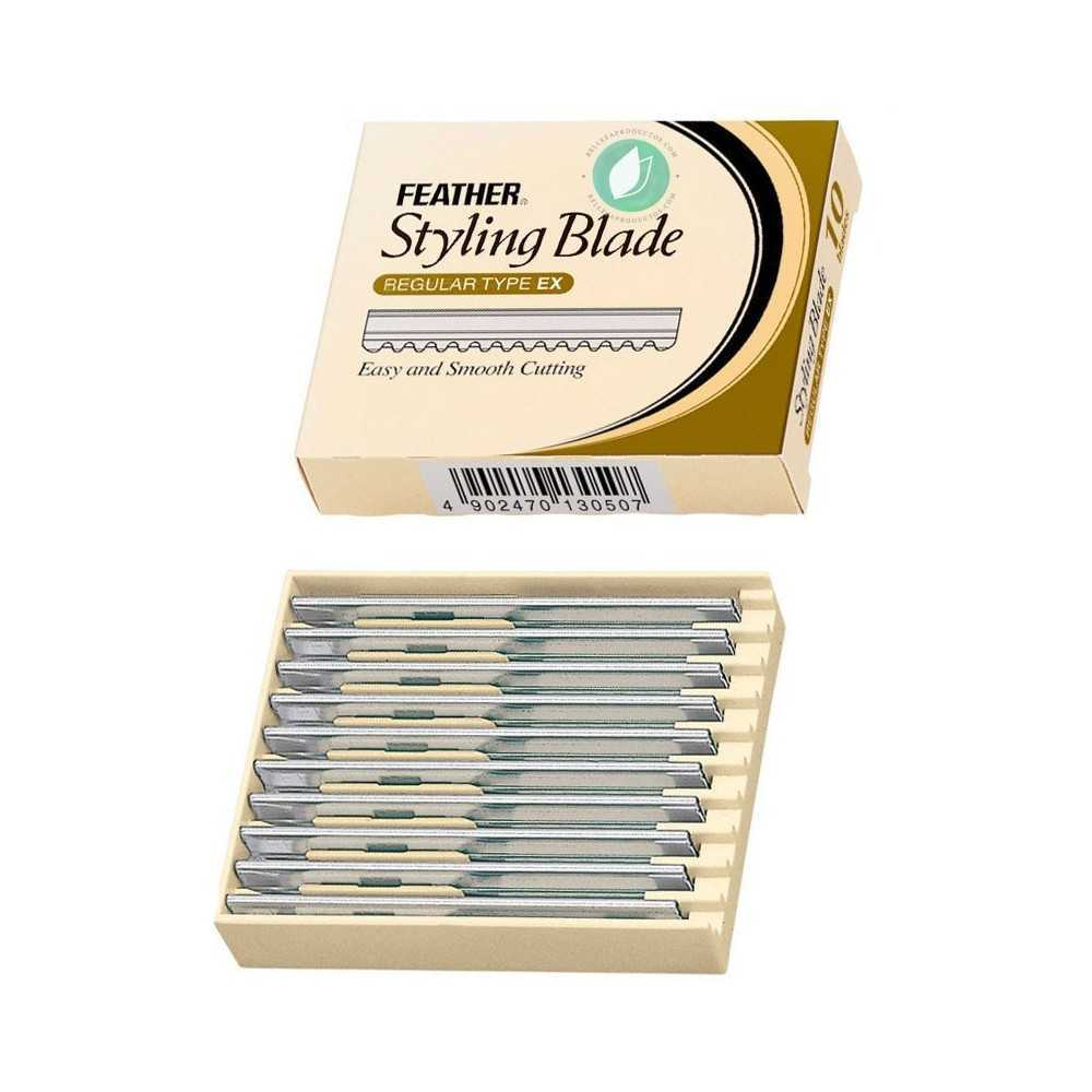 Feather Styling Blade Replacement 10 Units