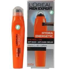 L'Oréal Hydra Energetic Roll-On De Ojos Efecto Hielo Bolsas Y Ojeras 10 ml