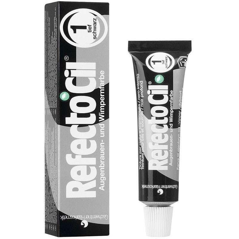 RefectoCil Tinte Para Cejas Y Pestañas Tono 1 Pure Black 15 ml
