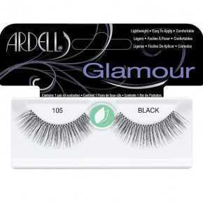 Ardell False Eyelashes Glamour 105 Black