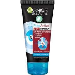 Garnier Pure Active Intensive 3 En 1 Koolstof 150 ml