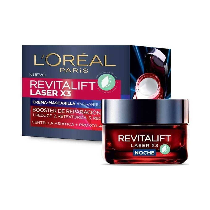 L'Oreal Revitalift Láser x3 Crema Noche 50 ml