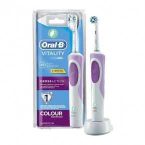 Cepillo Eléctrico Oral-B Vitality CrossAction Limpieza 2D Temporizador Recargable