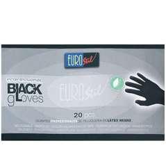 Kleine Zwarte Latex Handschoenen