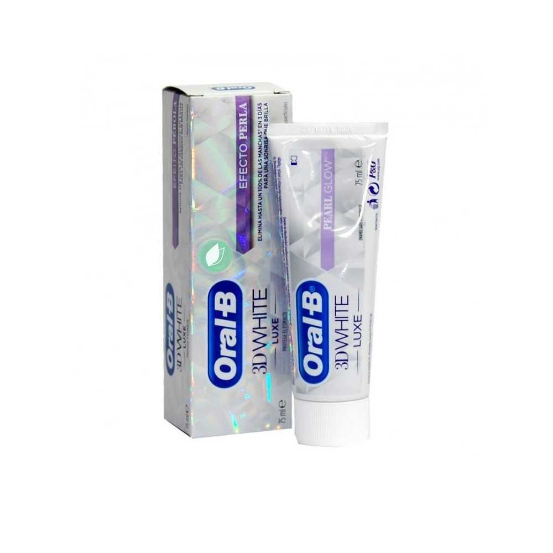 Oral B 3D White Luxe Pasta De Dientes Efecto Perla 75 ml
