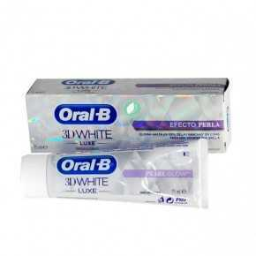 Oral B Toothpaste 3D White Luxe Pearl Effect 75 ml