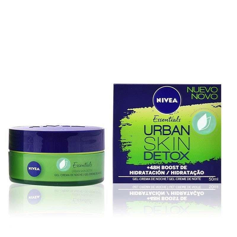 Nivea Urban Skin Detox Gel Crema Noche 50 ml