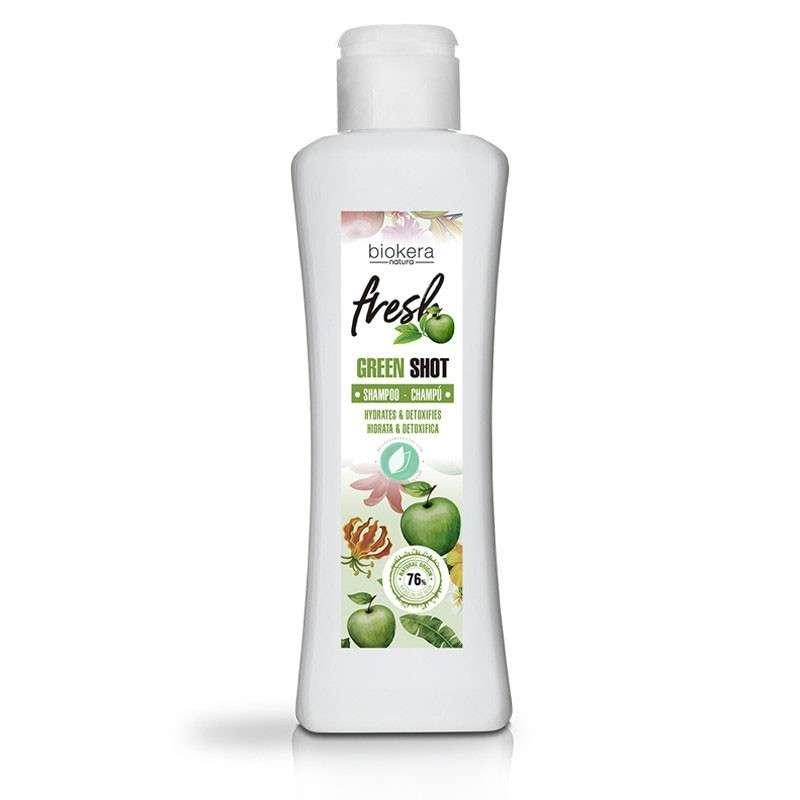 Salerm Biokera Shampoo Fresh Green Shot 300 ml