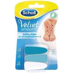 Scholl Velvet Smooth 3 Unhas Sobressalentes