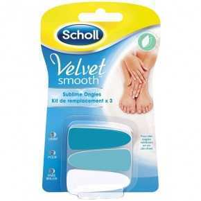 Scholl Velvet Smooth Nail File 3 Refills