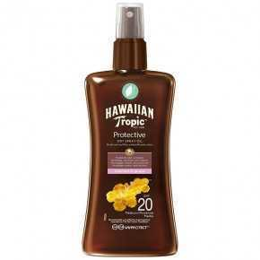 Hawaiian Tropic Protective Dry Spray Oil SPF 20 Kokos In Guave 200 ml