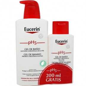 Eucerin Ph5 Pack De Gel De Baño 400 ml Y Lote De Gel De Baño 200 ml
