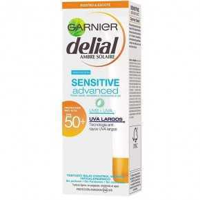 Garnier Crema De Rostro Y Escote Delial Sensitive Advance FPS50+ 50ml