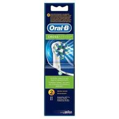 Oral B Crossaction 2 Peças Reposição Para Escova Elétrico