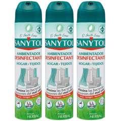 Sanytol Ambientador Desinfetante Spray Pack De 3 Ud 300 ml