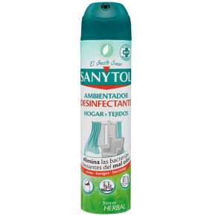 Sanytol Desinfectante Ambientador Hogar Y Textiles Spray Pack De 3 Ud 300 ml