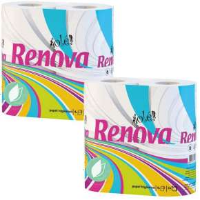 Renova Ecological Toilet Paper Pack 8 Units