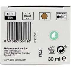 Bella Aurora CC Cream SPF 50 Anti-Stain Medium Tone 30 ml