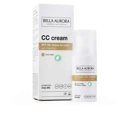 Bella Aurora CC Cream SPF 50+ Antimacchia Tono Medio 30 ml