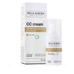 Bella Aurora Crema Color SPF 50+ Anti-Manchas Tono Medio 30 ml