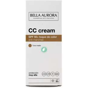 Bella Aurora CC Cream SPF 50 Anti-Stain Medium Tone 30 ml