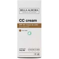 Bella Aurora Creme Cor SPF 50+ Anti-Manchas Tom Médio 30 ml