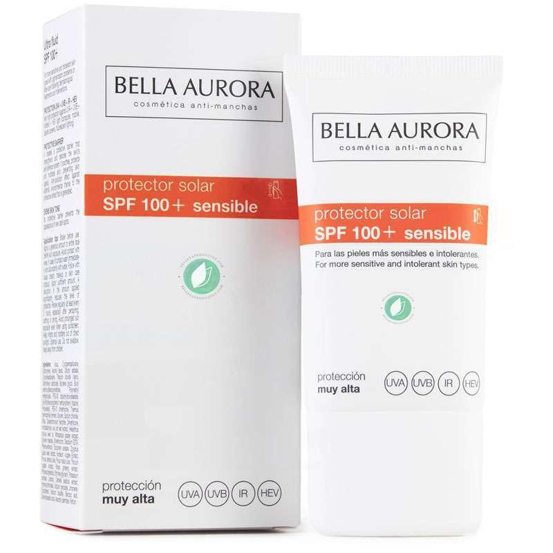 Bella Aurora Protector Solar SPF 100+ Piel Sensible 40 ml