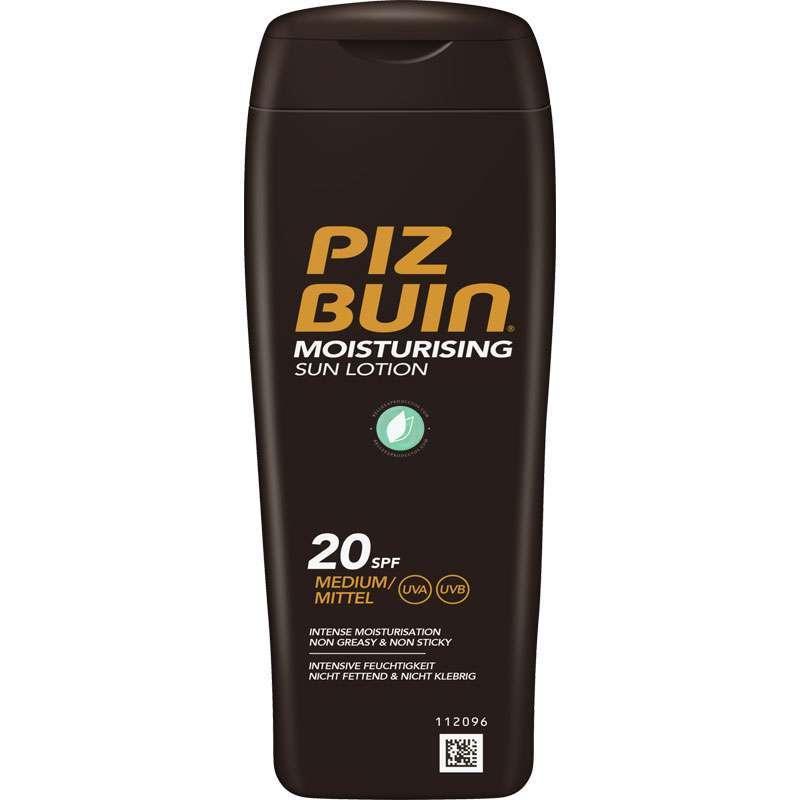Piz Buin Moisturising SPF 20 Sun Lotion 200 ml