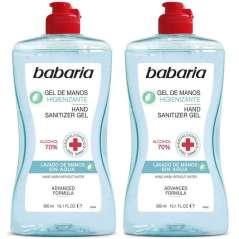 Babaria Gel Higienizante Para Mãos Pack 2 x 300 ml