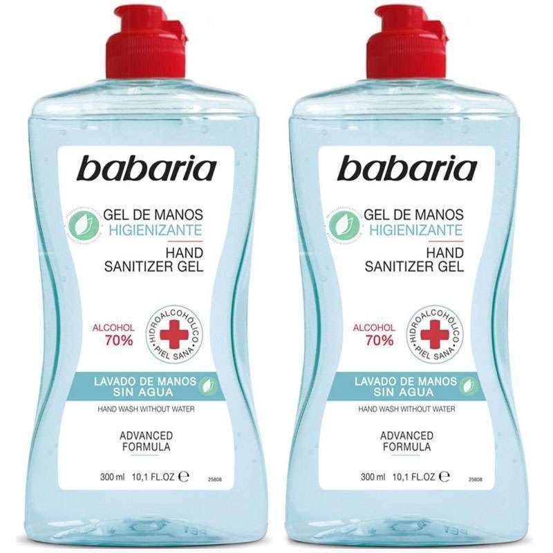 Babaria Gel De Manos Higienizante Pack 2 x 300 ml