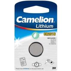 Camelion Pila De Botón De Litio 3 V CR2016
