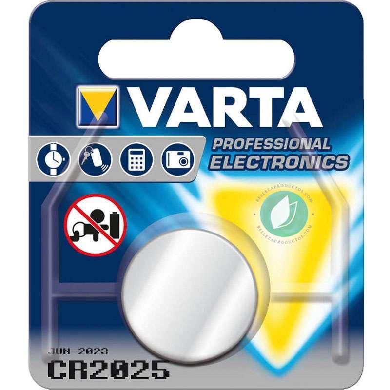 Varta Pila De Botón De Litio CR 2025 3 V Plata