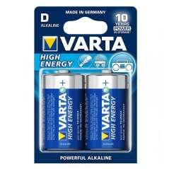 Varta Bateria Alcalina High Energy Pack 2