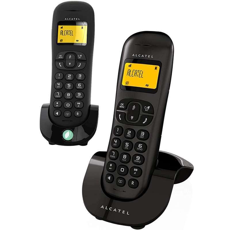 Alcatel C250 Duo Phone Black