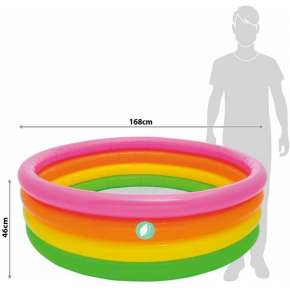Intex Inflatable Pool 168 x 46 cm