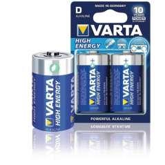 Varta Pila Alcalina High Energy Pack De 2