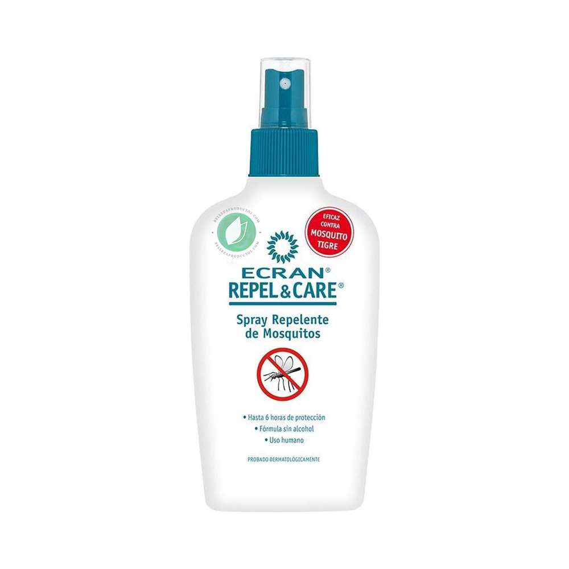 Ecran Repel & Care Spray Repelente de Mosquitos 100 ml