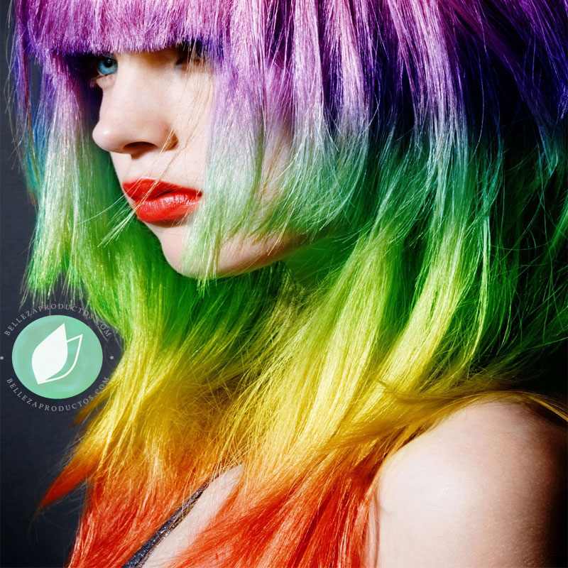 Colores De Fantasía Para El Pelo